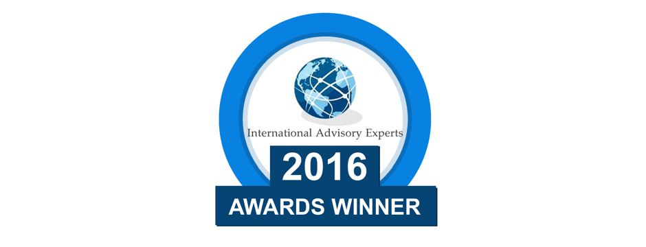 International Advisory Experts Awards Winner Logo - centre